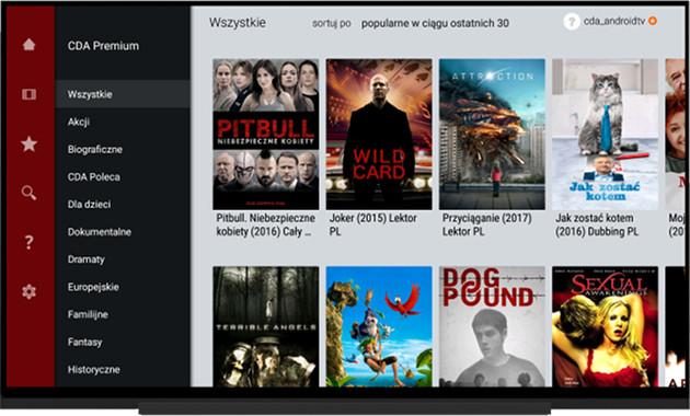CDA aplikacja TV