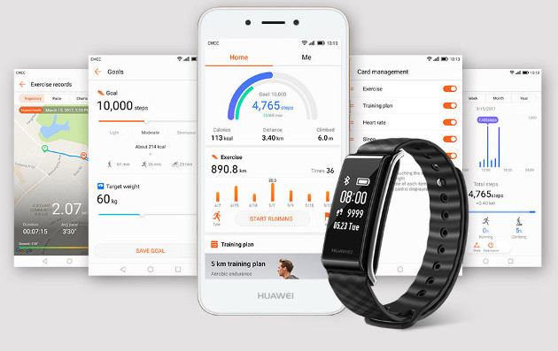Huawei Band A2 apps