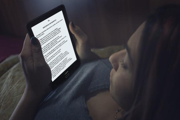 inkBOOK Prime HD doświetlenie