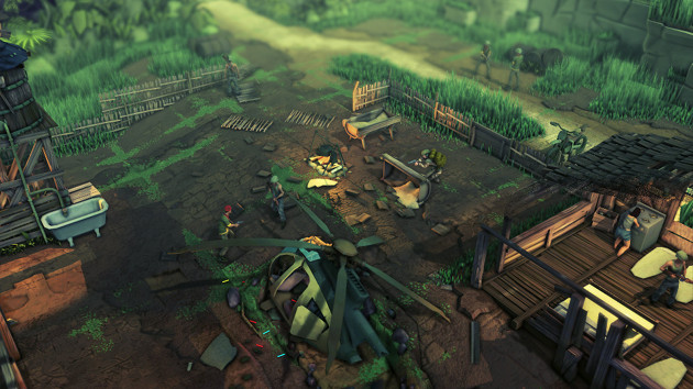 Jagged Alliance: Rage! screen