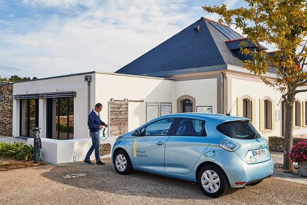Renault smart ładowanie