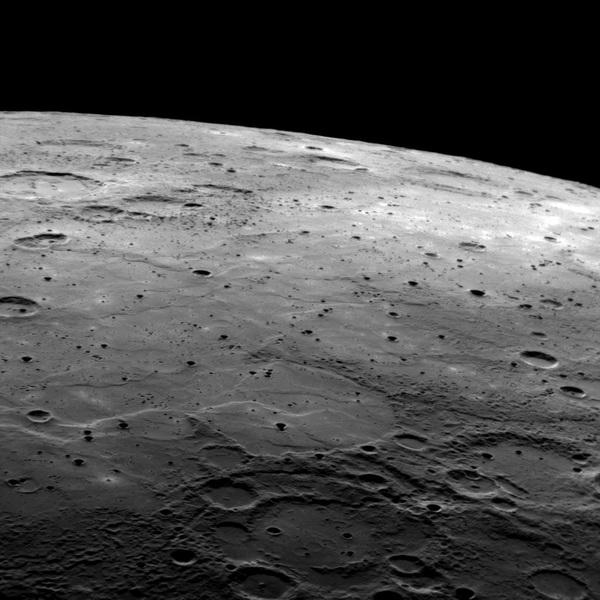 Merkury widziany z Messengera