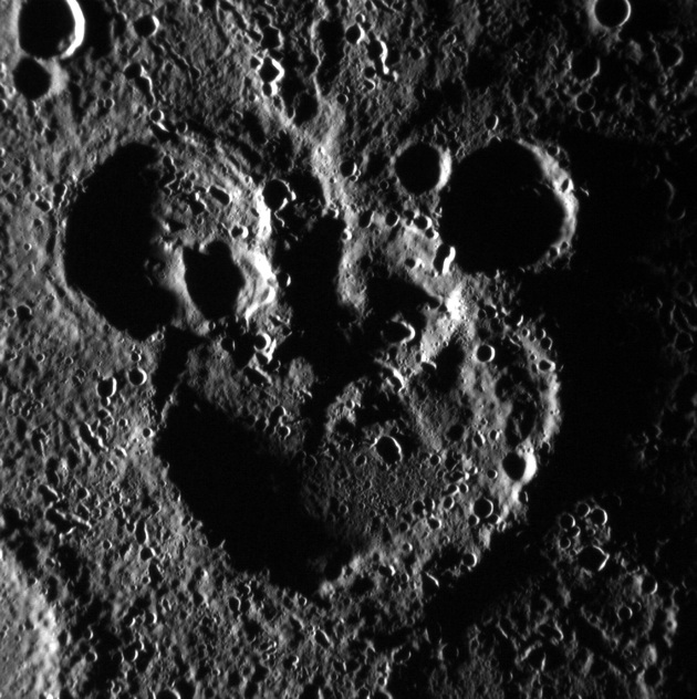 Merkury krater Myszka Miki