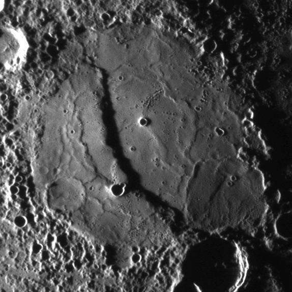 Merkury struktury na powierzchni
