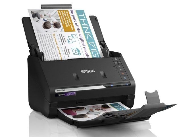Epson FastFoto FF-680W dokumenty