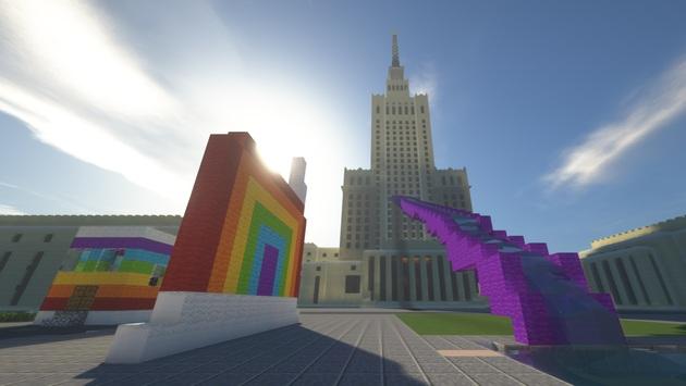 Minecraft - Stolica do sześcianu - praca konkursowa 1