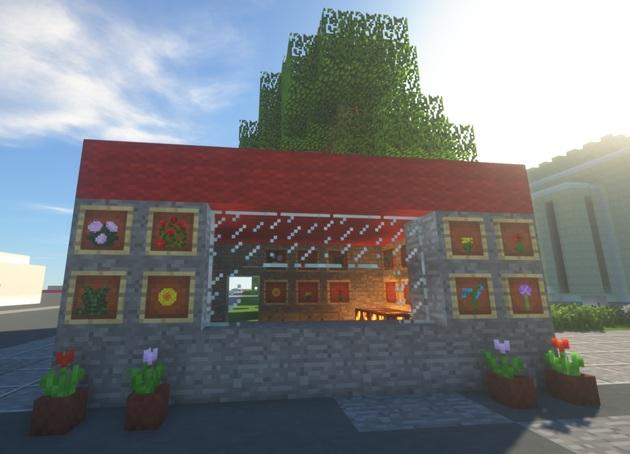 Minecraft - Stolica do sześcianu - praca konkursowa 3