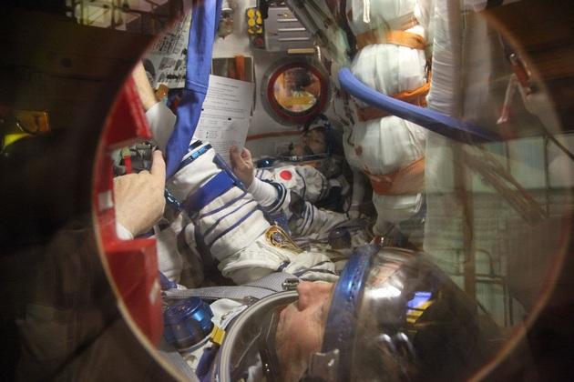 Sojuz w środku