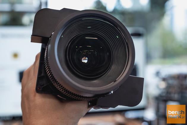 Obiektyw projektor