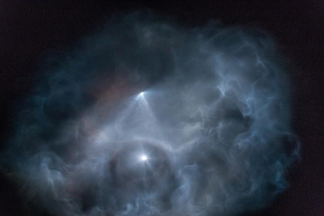 SpaceX światła