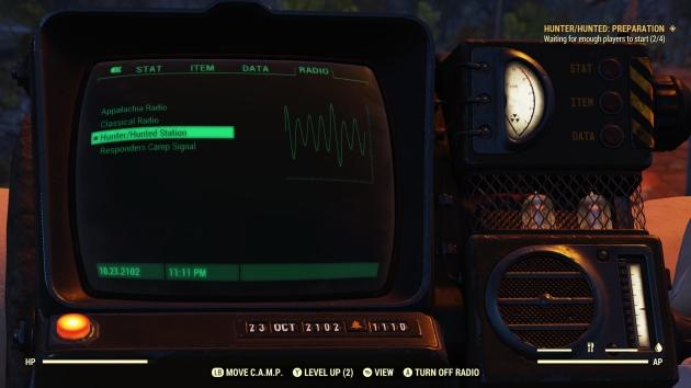 Fallout 76 Hunted