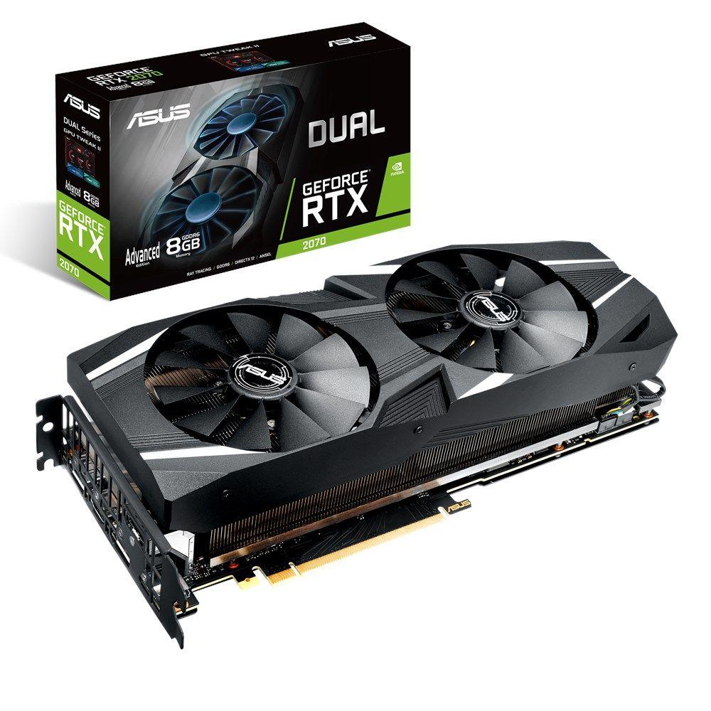ASUS GeForce RTX 2070 8G Dual Advanced