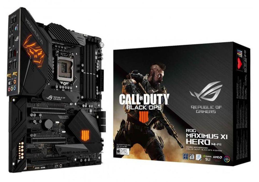 ASUS ROG Maximus XI Hero (WiFi) Call of Duty Black Ops 4 Edition