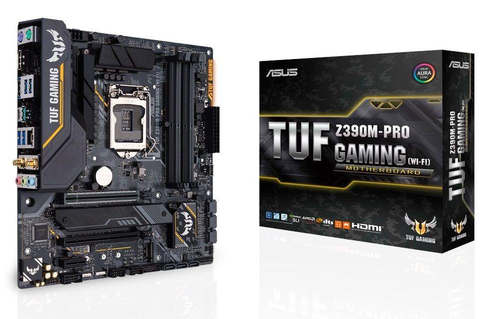 ASUS TUF Z390M PRO Gaming WiFi