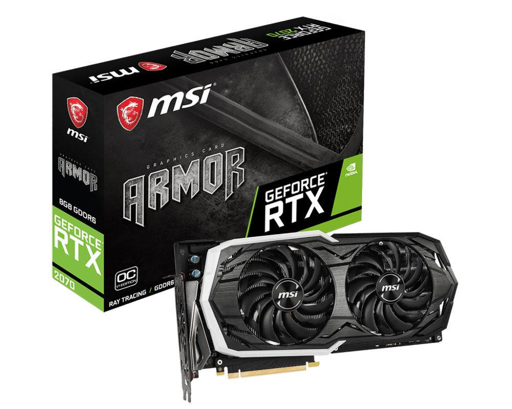 MSI GeForce RTX 2070 Armor 8G OCV1