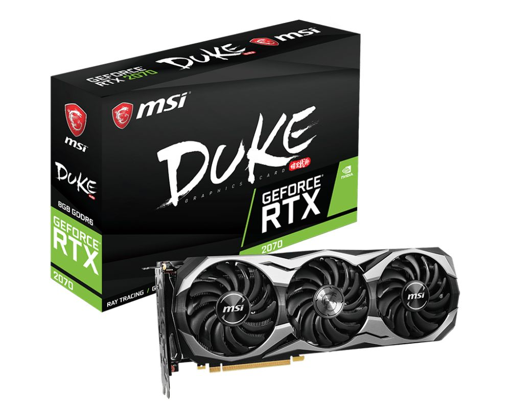 MSI GeForce RTX 2070 Duke 8G