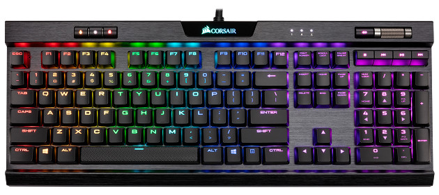Corsair K70 RGB MK.2 Low Profile wygląd