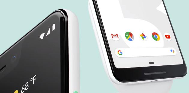 Google Pixel 3 wygląd