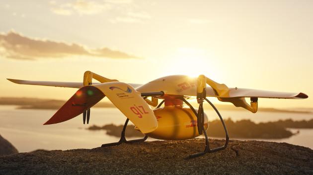 Parcelcopter dron