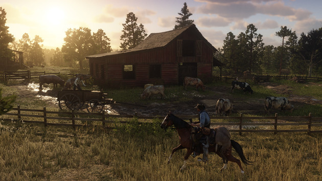 Red Dead Redemption 2 screen