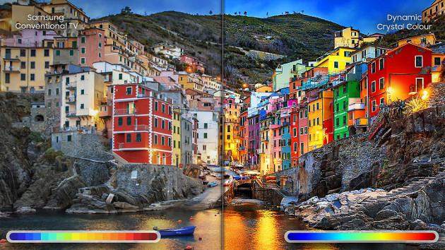 TV Dynamic Crystal Colour