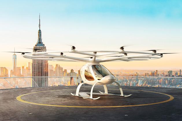 Volocopter lądowisko