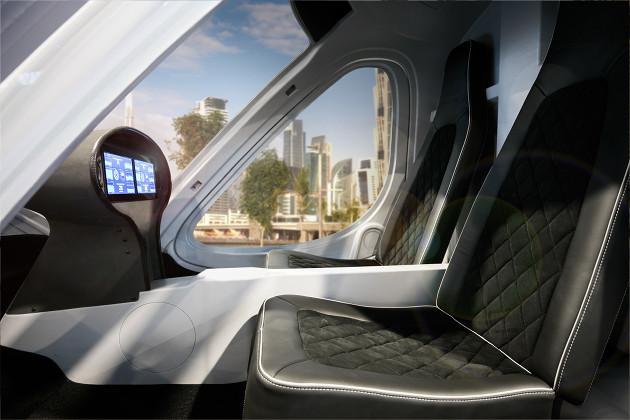Volocopter wnętrze