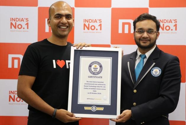 Xiaomi rekord Guinnessa