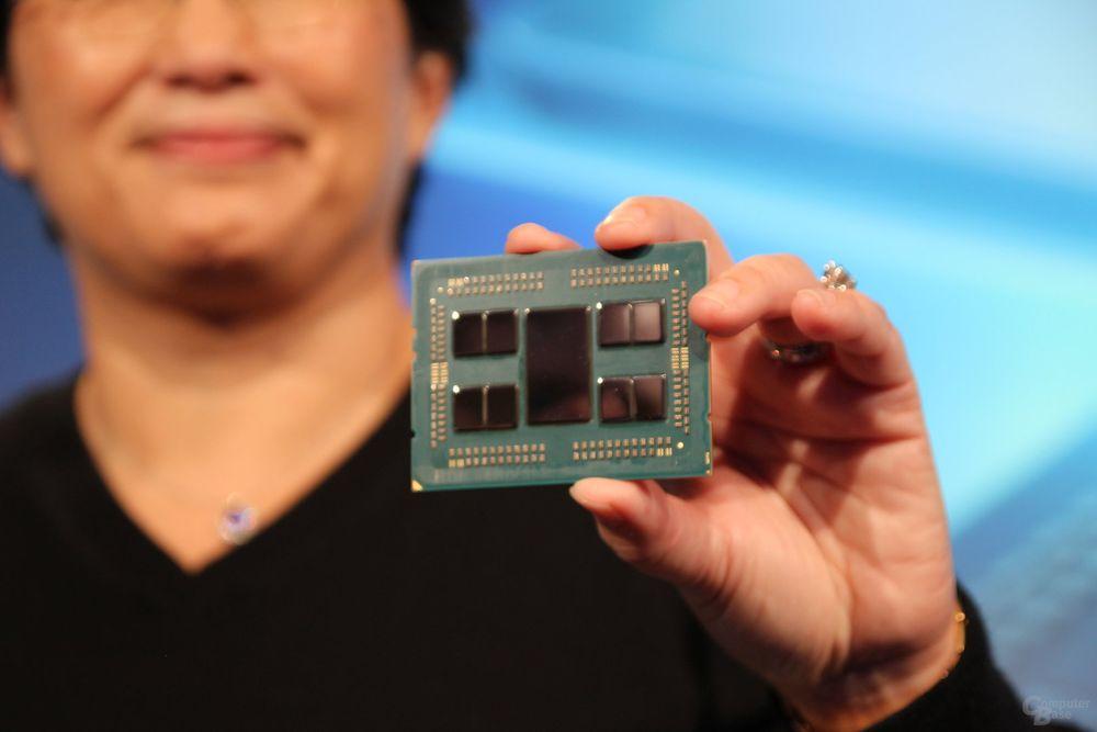 AMD Epyc Rome - zdjęcie procesora