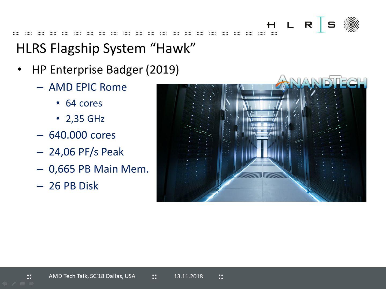 HLRS Hawk - superkomputer