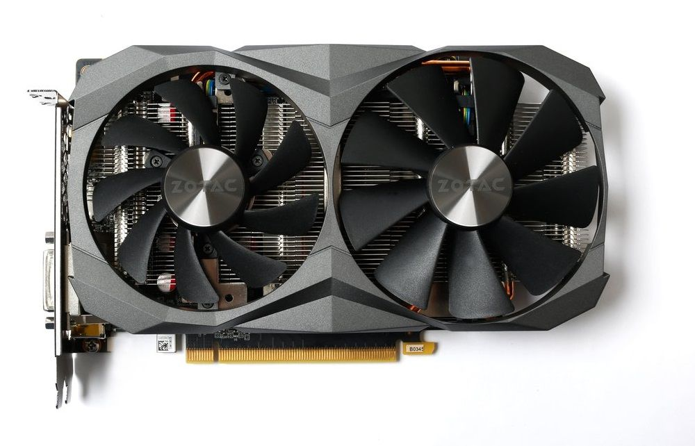 Zotac GeForce GTX 1060 6GB GDDR5X AMP! Edition
