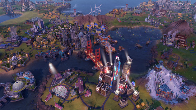 Civilization VI: Gathering Storm screen miasto