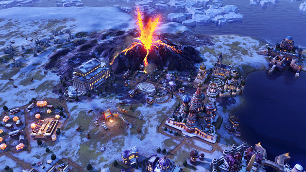 Civilization VI: Gathering Storm screen wulkan
