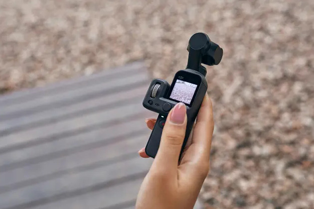 DJI Osmo Pocket ekran