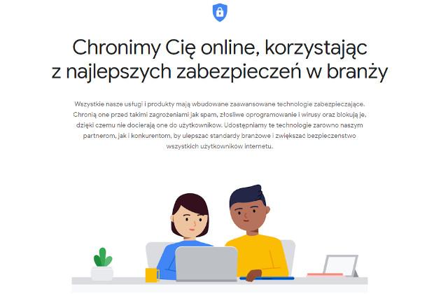 Centrum Bezpieczeństwa Google bezpieczeństwo