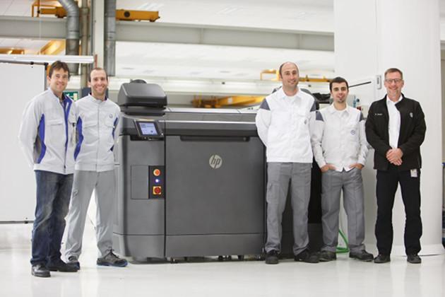 HP 3D drukarka