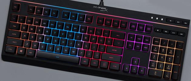 HyperX Alloy Core RGB wygląd
