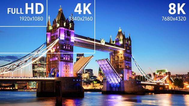 Samsung QLED 8K rozdzielczość