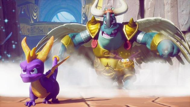 Spyro screen