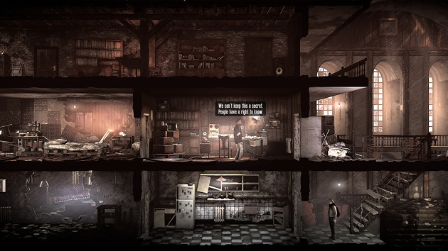 This War of Mine: Stories - The Last Broadcast screen
