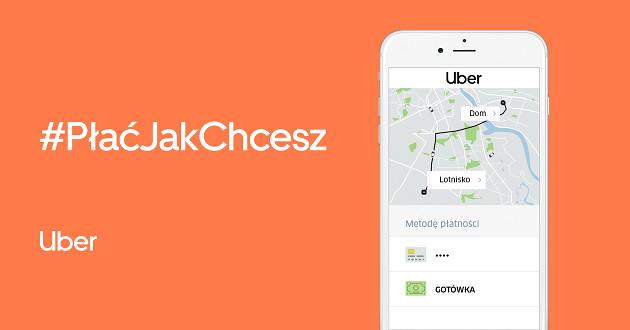 Uber gotówka app