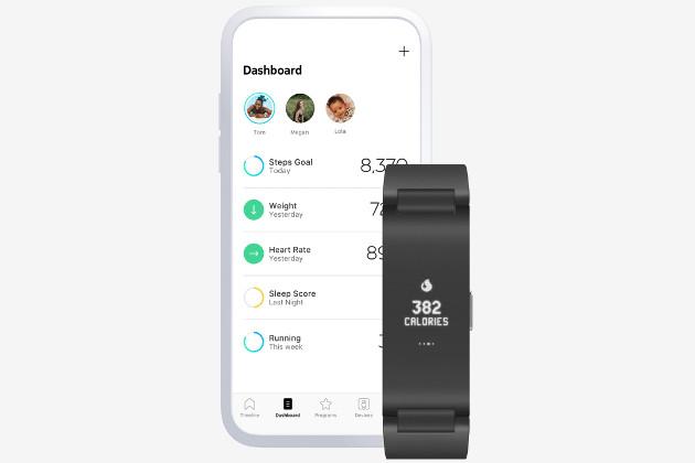 Withings Pulse HR app