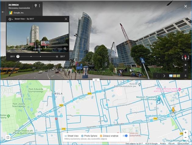 StreetView historia