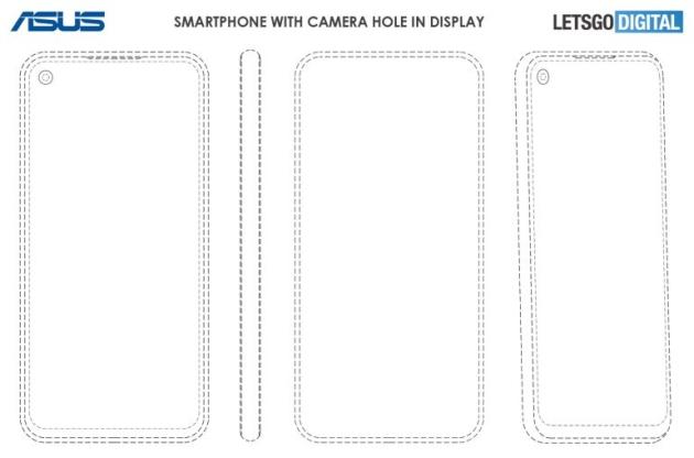 Asus smartfon patent