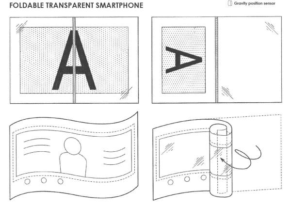 Sony elastyczny smartfon