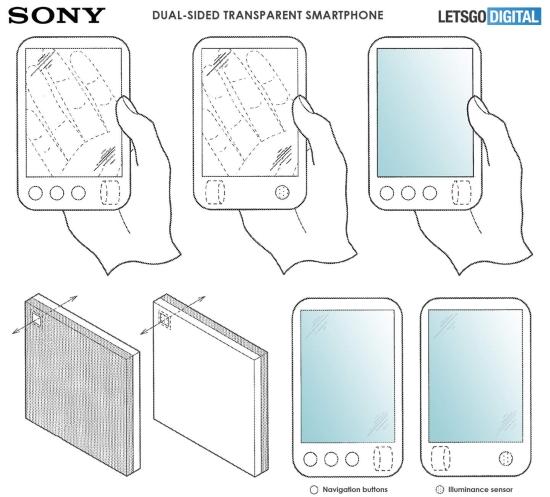 Sony składany smartfon