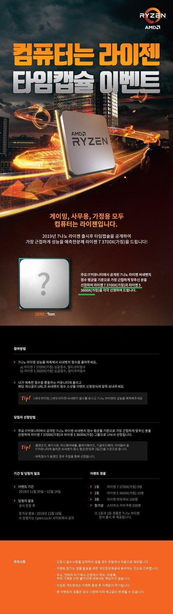 AMD Ryzen - konkurs