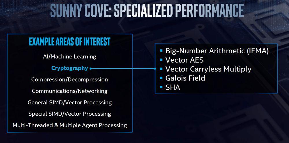 Intel Skylake vs Sunny Cove