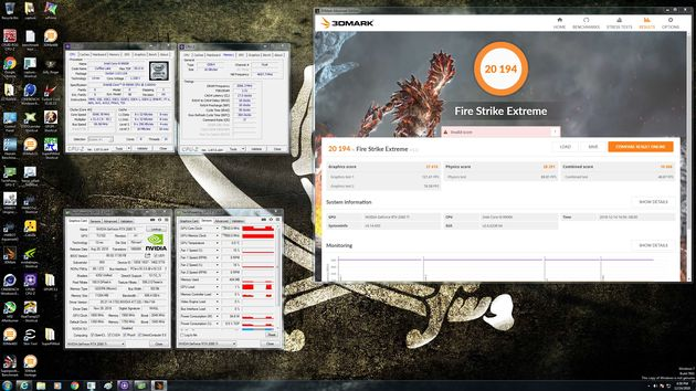 MSI GeForce RTX 2080 Ti Lightning - wydajność 3DMark Fire Strike Extreme