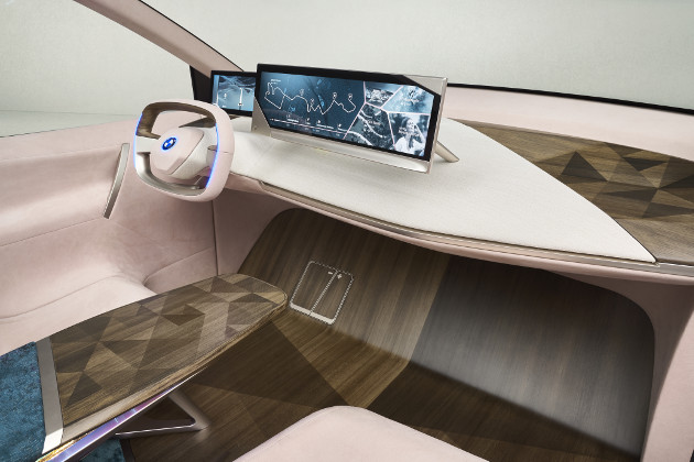 BMW Vision iNEXT wnętrze